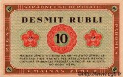 10 Rubli LETTONIE  1919 P.R4 pr.NEUF