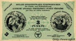 3 Punkte LETTONIE  1940 P.-- SUP+