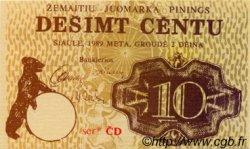 10 Centu LETTONIE  1989 P.-- NEUF