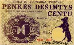 50 Centu LETTONIE  1989 P.-- NEUF