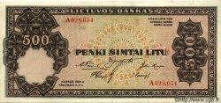 500 Litu LITUANIE  1924 P.21a SUP+