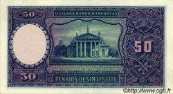 50 Litu LITUANIE  1928 P.24a pr.SPL