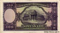 100 Litu LITUANIE  1928 P.25a TTB
