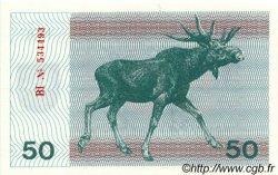 50 Talonas LITUANIE  1991 P.37b NEUF