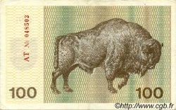 100 Talonas LITUANIE  1991 P.38a TTB