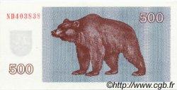 500 Talonas LITUANIE  1992 P.44 NEUF