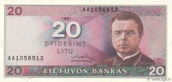 20 Litu LITUANIE  1991 P.48 NEUF