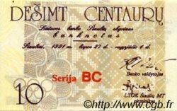 10 Centauru LITUANIE  1991 P.- NEUF