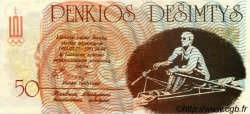 50 Litauru LITUANIE  1991 P.- NEUF