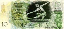 10 Litaurai LITUANIE  1991 P.- NEUF