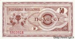 50 Denari MACÉDOINE  1992 P.03a NEUF