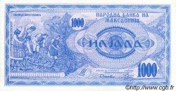 1000 Denari MACÉDOINE  1992 P.06a SPL