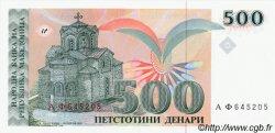 500 Denari MACÉDOINE  1993 P.13a NEUF