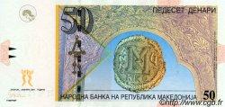50 Denari MACÉDOINE  1996 P.15a NEUF