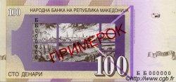 100 Denari MACÉDOINE  1997 P.16s NEUF