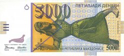 5000 Denari MACÉDOINE  1996 P.19a NEUF