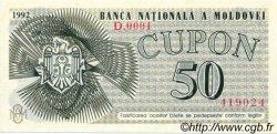 50 Cupon MOLDAVIE  1992 P.01 SUP