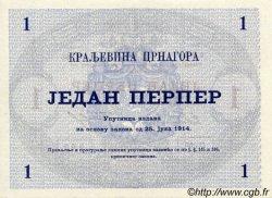1 Perper MONTENEGRO  1914 P.15 pr.NEUF