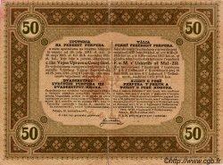 50 Perpera MONTENEGRO  1917 P.M.153 pr.TB