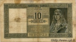 10 Dinara MONTENEGRO  1941 P.R10 TB