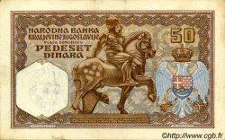 50 Dinara MONTENEGRO  1941 P.R12 TTB+