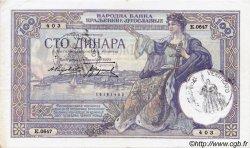 100 Dinara MONTENEGRO  1941 P.R13a pr.SUP