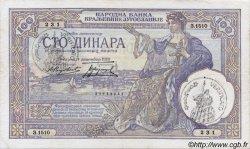 100 Dinara MONTENEGRO  1941 P.R13b TTB