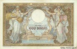 1000 Dinara MONTENEGRO  1941 P.R15 TTB+