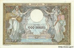 1000 Dinara MONTENEGRO  1941 P.R15 SPL