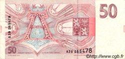 50 Korun RÉPUBLIQUE TCHÈQUE  1993 P.04a TTB+