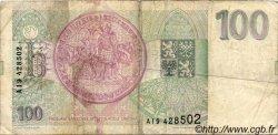 100 Korun RÉPUBLIQUE TCHÈQUE  1993 P.05a TB