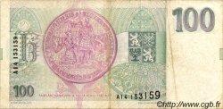 100 Korun RÉPUBLIQUE TCHÈQUE  1993 P.05a TTB