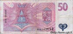 50 Korun RÉPUBLIQUE TCHÈQUE  1994 P.11 TB