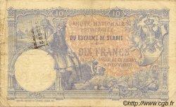 10 Dinara SERBIE  1893 P.10a B+