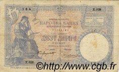 10 Dinara SERBIE  1893 P.10a TB