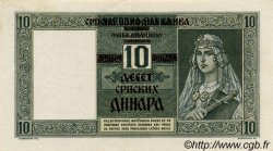 10 Dinara SERBIE  1941 P.22 SUP+