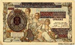 1000 Dinara SERBIE  1941 P.24 TTB+