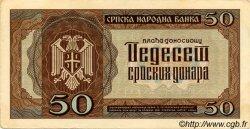 50 Dinara SERBIE  1942 P.29 SUP