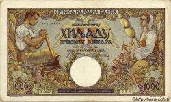 1000 Dinara SERBIE  1942 P.32a pr.TTB