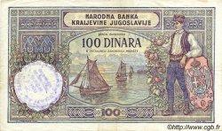 100 Dinara SERBIE  1941 P.-- TTB