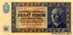 10 Korun SLOVAQUIE  1939 P.04s NEUF