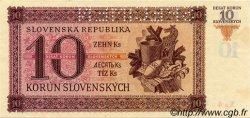10 Korun SLOVAQUIE  1942 P.06s SPL+