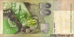 20 Korun SLOVAQUIE  1993 P.20a TTB