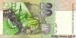 20 Korun SLOVAQUIE  1995 P.20b TTB