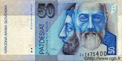 50 Korun SLOVAQUIE  1993 P.21a TTB