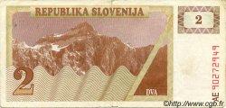 2 Tolarjev SLOVÉNIE  1990 P.02a TB