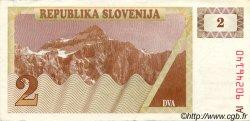 2 Tolarjev SLOVÉNIE  1990 P.02a TTB