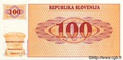 100 Tolarjev SLOVÉNIE  1990 P.06s1 NEUF