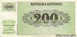 200 Tolarjev SLOVÉNIE  1990 P.07a TB+
