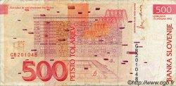 500 Tolarjev SLOVÉNIE  1992 P.16a TB